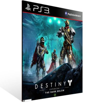 Destiny Expansion 1 The Dark Below - Ps3 Psn Mídia Digital