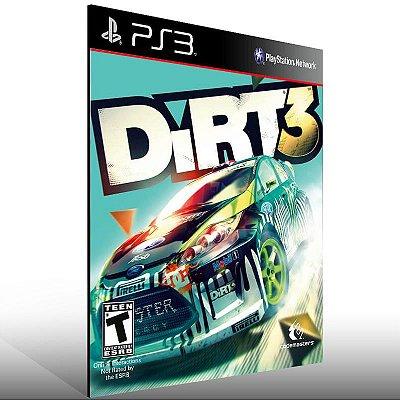 Dirt 3 - Ps3 Psn Mídia Digital