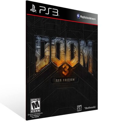 Doom 3 - Ps3 Psn Mídia Digital