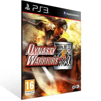 Dynasty Warriors 8 - Ps3 Psn Mídia Digital