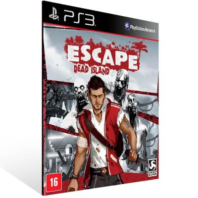 Escape Dead Island - Ps3 Psn Mídia Digital