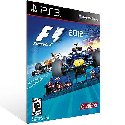 F1 2012 - Ps3 Psn Mídia Digital