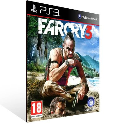 Far Cry 3 - Ps3 Psn Mídia Digital