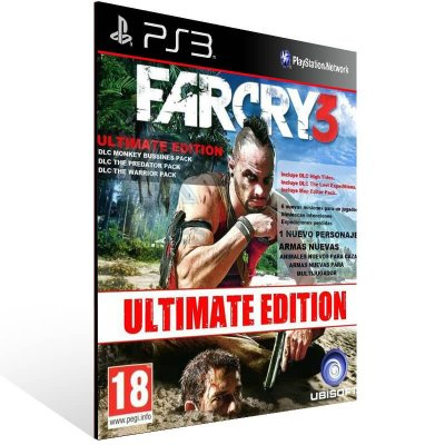 Far Cry 3 Ultimate Edition - Ps3 Psn Mídia Digital