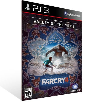 Far Cry 4 Valley Of The Yetis - Ps3 Psn Mídia Digital