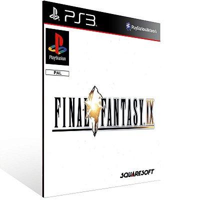 Final Fantasy 9 - Ps3 Psn Mídia Digital