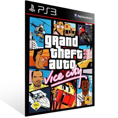 Grand Theft Auto Gta Vice City - Ps3 Psn Mídia Digital