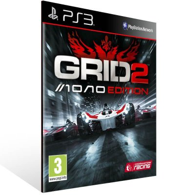 Grid 2 Reloaded Edition - Ps3 Psn Mídia Digital