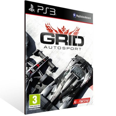 Grid Autosport - Ps3 Psn Mídia Digital
