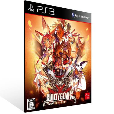Guilty Gear Xrd Sign - Ps3 Psn Mídia Digital