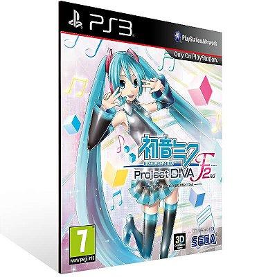 Hatsune Miku: Project Diva F 2Nd - Ps3 Psn Mídia Digital