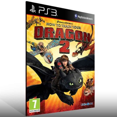 How To Train Your Dragon 2 - Ps3 Psn Mídia Digital
