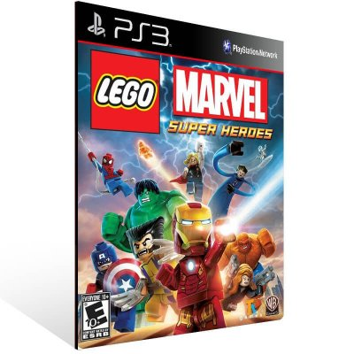 Lego Marvel Super Heroes - Ps3 Psn Mídia Digital