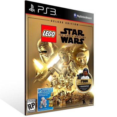 Lego Star Wars: The Force Awakens Deluxe Edition - Ps3 Psn Mídia Digital