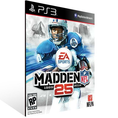 Madden NFL 25 - Ps3 Psn Mídia Digital