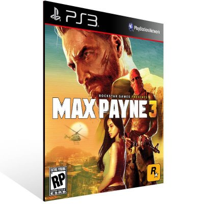 Max Payne 3 - Ps3 Psn Mídia Digital
