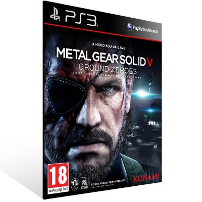 Metal Gear Solid 5: Ground Zeroes - Ps3 Psn Mídia Digital