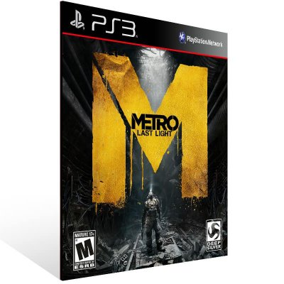 Metro Last Light - Ps3 Psn Mídia Digital