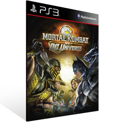 Mortal Kombat Vs. Dc Universe - Ps3 Psn Mídia Digital