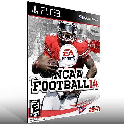 NCAA Football 14 - Ps3 Psn Mídia Digital