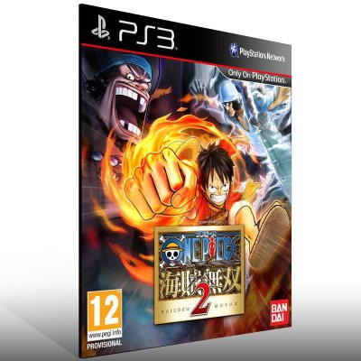 One Piece Pirate Warriors 2 - Ps3 Psn Mídia Digital