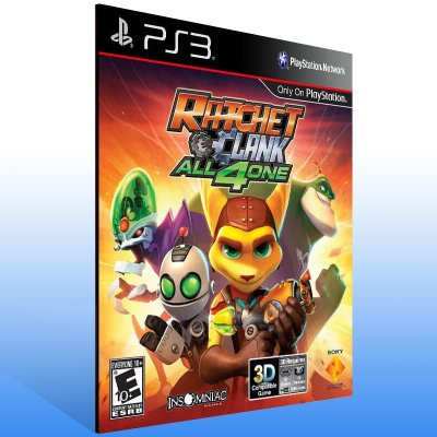 Ratchet & Clank: All 4 One - Ps3 Psn Mídia Digital