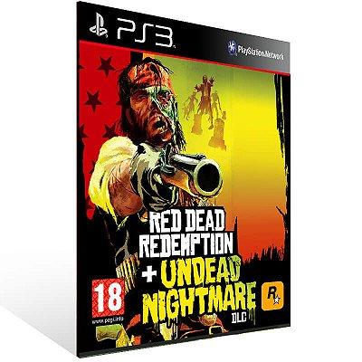 Red Dead Redemption + Undead Nightmare - Ps3 Psn Mídia Digital