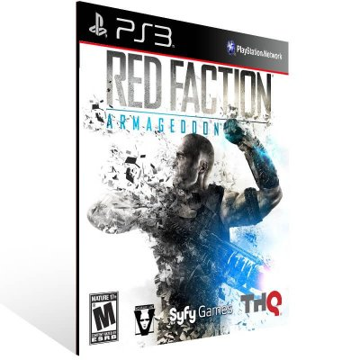 Red Faction: Armageddon Ultimate Edition - Ps3 Psn Mídia Digital