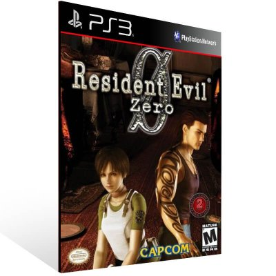 Resident Evil 0 - Ps3 Psn Mídia Digital