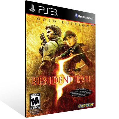 Resident Evil 5 Gold Edition - Ps3 Psn Mídia Digital