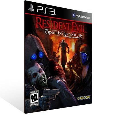 Resident Evil Operation Raccoon City - Ps3 Psn Mídia Digital
