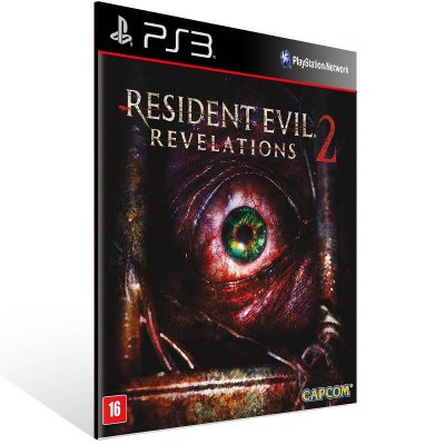 Resident Evil Revelations 2 - Ps3 Psn Midia Digital