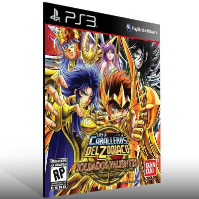 Saint Seiya Brave Soldiers - Ps3 Psn Mídia Digital