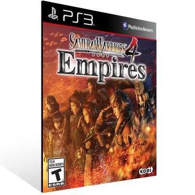 Samurai Warriors 4 Empires - Ps3 Psn Mídia Digital