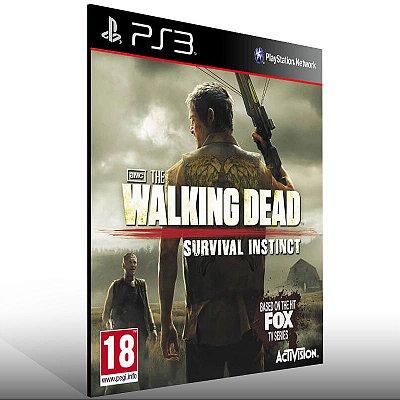 The Walking Dead Survival Instinct - Ps3 Psn Mídia Digital