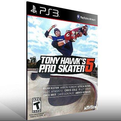 Tony Hawk's Pro Skater 5 - Ps3 Psn Mídia Digital