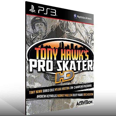 Tony Hawks Pro Skater HD - Ps3 Psn Mídia Digital