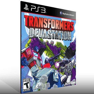 Transformers Devastation - Ps3 Psn Mídia Digital