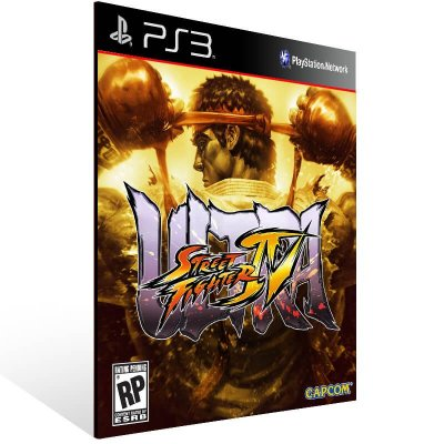 Ultra Street Fighter 4 - Ps3 Psn Mídia Digital