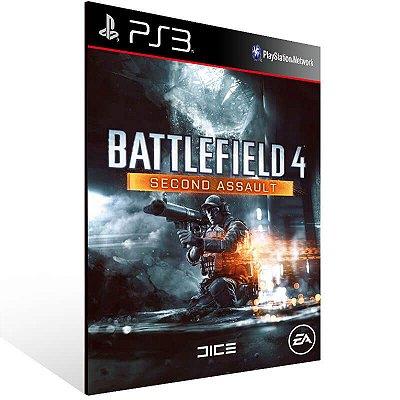 Battlefield 4 Second Assault - Ps3 Psn Mídia Digital