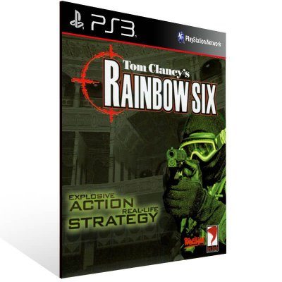 Tom Clancy's Rainbow Six (Psone Classic) - Ps3 Psn Mídia Digital