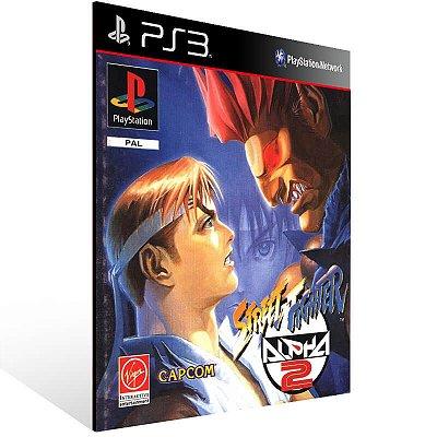 Street Fighter Alpha 2 (Psone Classic) - Ps3 Psn Mídia Digital