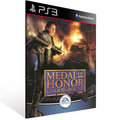 Medal Of Honor Underground (Psone Classic) - Ps3 Psn Mídia Digital