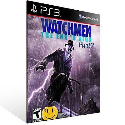 Watchmen The End Is Nigh Part 2 - Ps3 Psn Mídia Digital