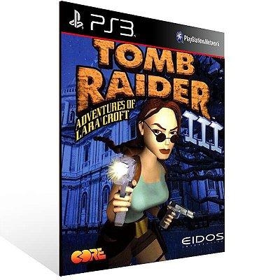 Tomb Raider 3 (Psone Classic) - Ps3 Psn Mídia Digital