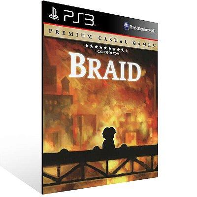 Braid - Ps3 Psn Mídia Digital