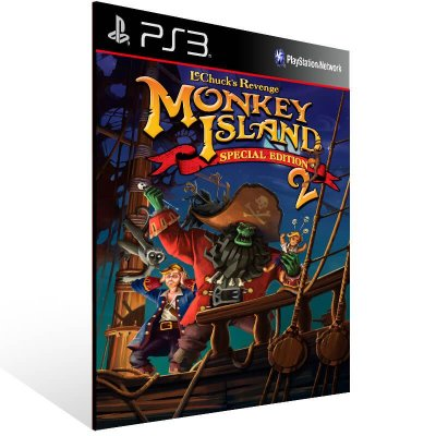Monkey Island 2 Special Edition Lechuck Revenge - Ps3 Psn Mídia Digital