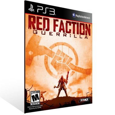 Red Faction Guerrilla - Ps3 Psn Mídia Digital