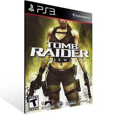 Tomb Raider Underworld - Ps3 Psn Mídia Digital