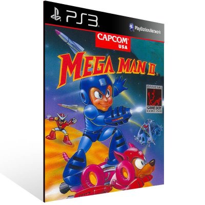 Mega Man 2 (Psone Classic) - Ps3 Psn Mídia Digital